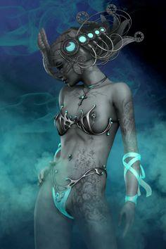 Lady Zodiac at the club