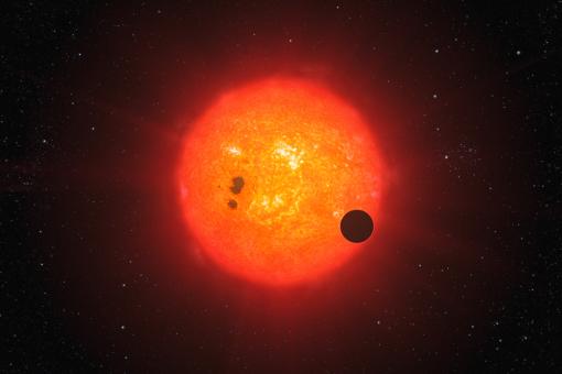 Even suns have parasites