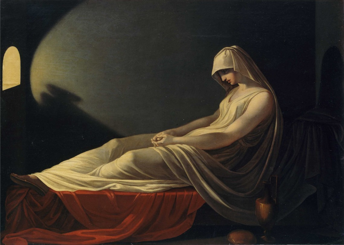 Naevia contemplates a Scourging